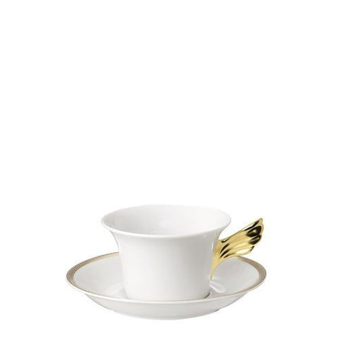 Tea Cup & Saucer, 6 1/4 inch, 7 ounce | Medusa D-Or