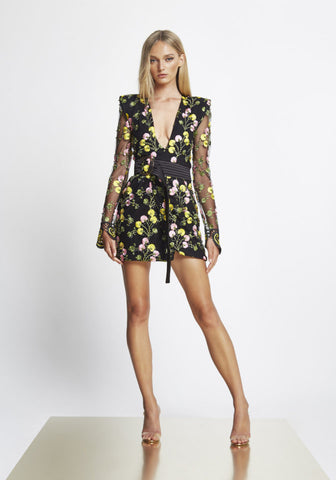 ZHIVAGO In The Garden Mini Dress