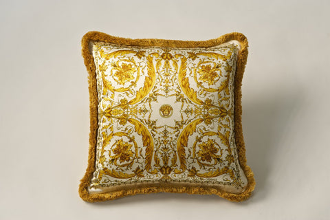 Versace Pillow (45cm x 45cm), 100% Silk (available in 3 colors)