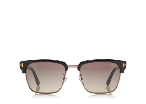Tom Ford Eyewear TF367P Black Polarized