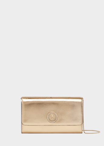 Versace Medusa Icon Laminated Clutch
