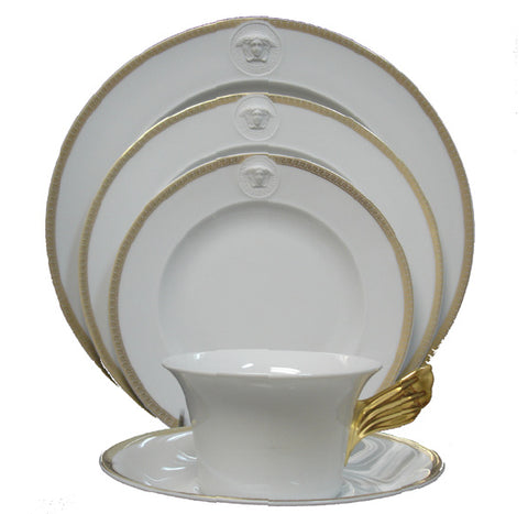 Medusa D'Or, 5pcs place setting