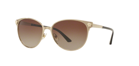 Versace Eyewear VE2168 Brushed Pale Gold