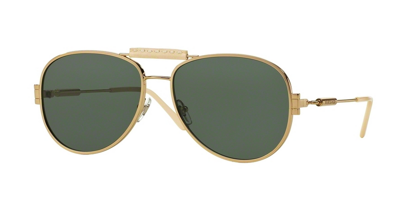 59ae8dbed7 Versace sunglasses style VE2167Q Pale Gold.