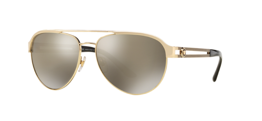 9788b0d7ad Versace sunglasses style VE2165 Pale Gold.