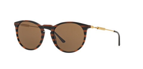 Versace Eyewear VE4315 Brown Rule Black