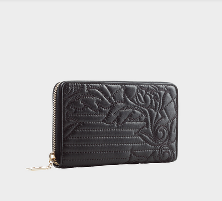 Versace Macro Vanitas Zip-Around Wallet