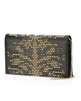 Roberto Cavalli Chain Wallet Clutch