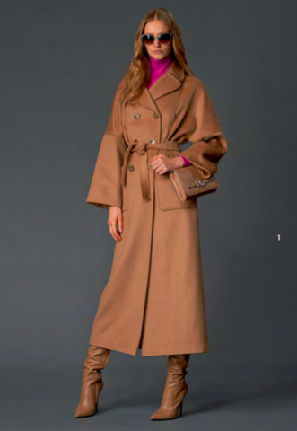 Versace Collection Camelhair Coat