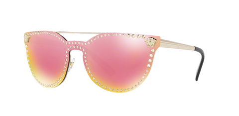 Versace Eyewear VE2177 Yellow Rose Mirror