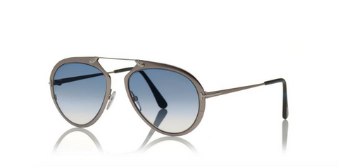 Tom Ford Eyewear TF508 Shiny Gunmetal Dashel