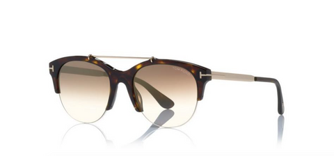 Tom Ford Eyewear TF517 Havana Adrenne