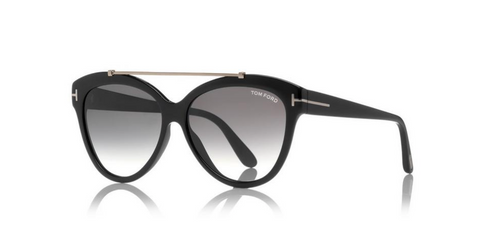 Tom Ford Eyewear TF518 Black Livia