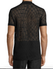 Versace Collection See-Through Polo