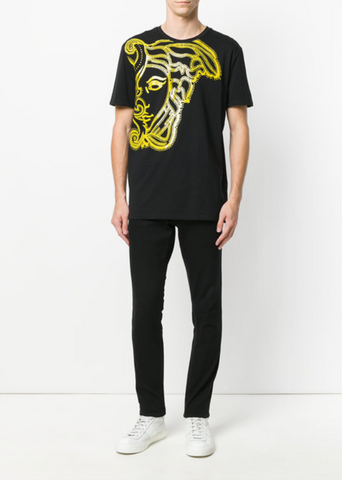 Versace Collection Traced Medusa T-Shirt