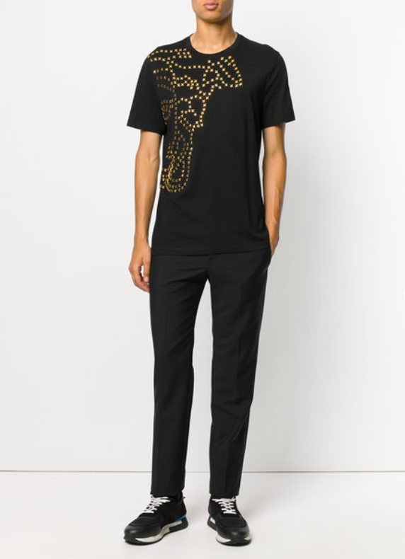 47ed0218047 Versace Collection Studded Medusa T-Shirt