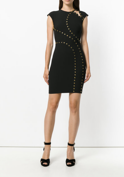 Versace Collection Studded Dress