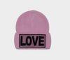 Versace Love Manifesto Knit Hat