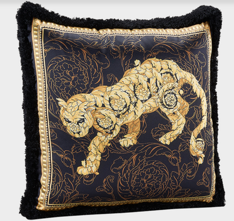 Versace Lion Barocco Pillow