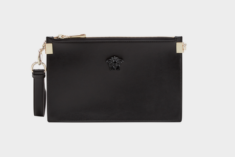 Versace 'Palazzo' Leather Pouch
