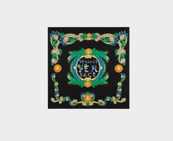 Versace Beverly Palm Foulard Scarf
