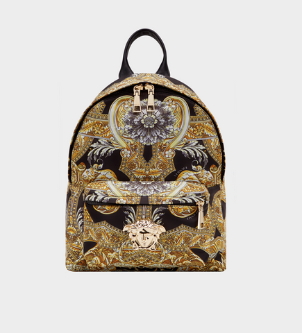 Versace Baroque Istante Nylon Backpack