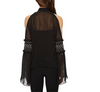 Versace Collection Cold Shoulder Blouse