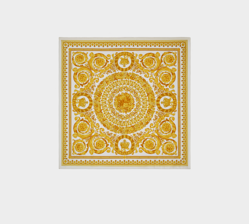 Versace Baroque SS 92 Tribute Silk Scarf  78118217be24f