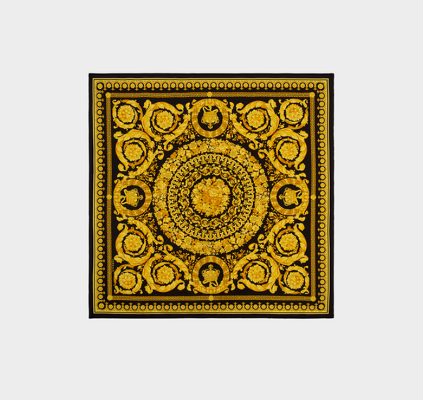 Versace Baroque SS'92 Tribute Silk Scarf