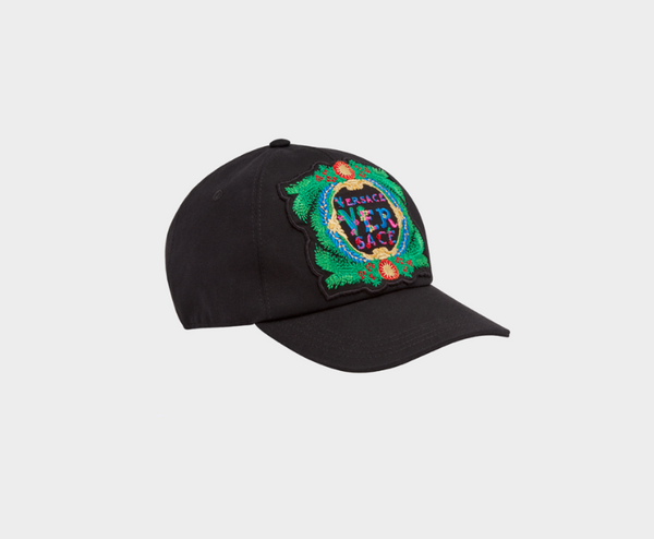 Versace Beverly Palm Crest Baseball Cap