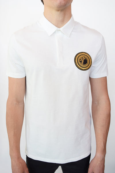 097abb03652d Versace Collection Rubber Medusa Polo | Eleganza www.eNextDoor.com