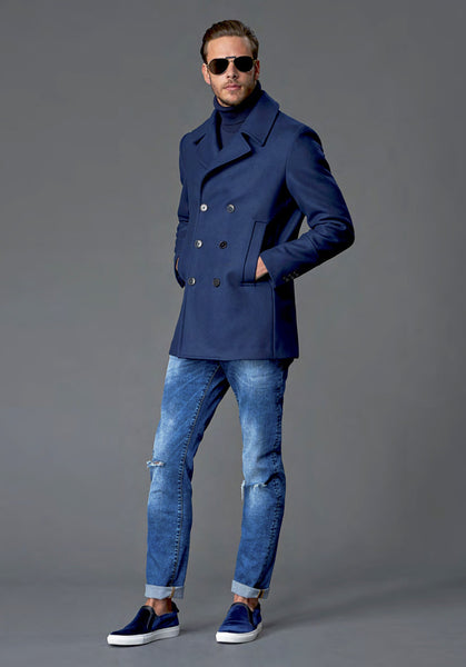 Versace Collection Peacoat