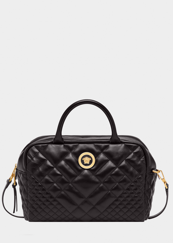 Versace Quilted Icon Satchel