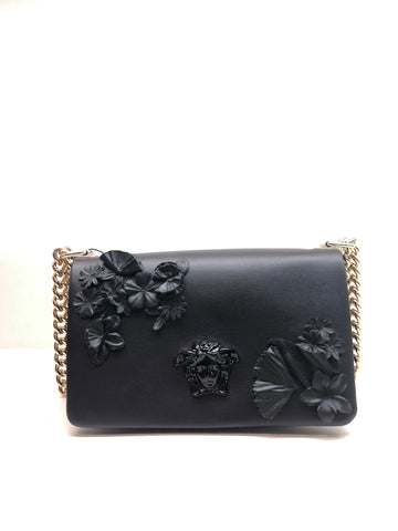 Versace Sultan Flower Applique Bag