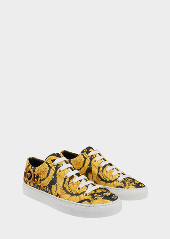 Versace Tribute Medusa Leather Sneakers