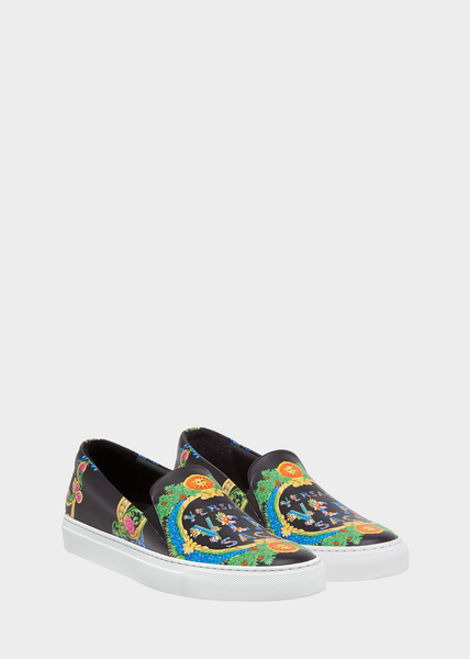 Versace Beverly Palm Slip-On