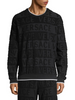 Versace Signature Terry Cotton Sweatshirt