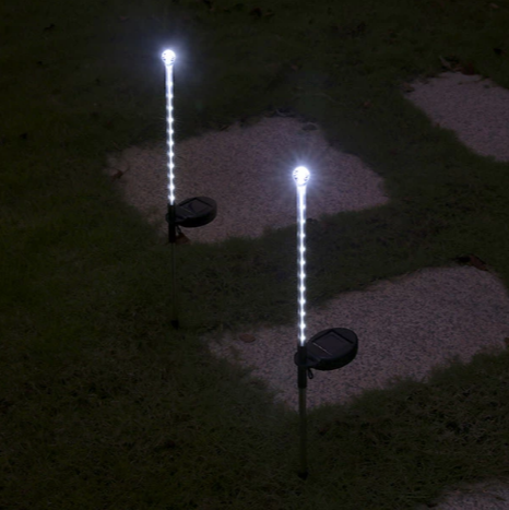 MeteorGlow - Solar Powered LED Lights (2 Pack)