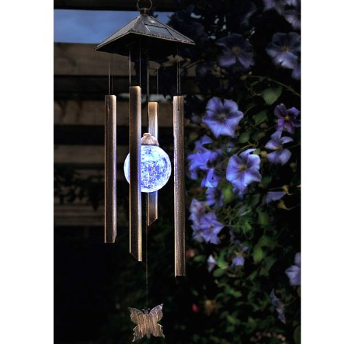 GlowChime - LED Crystal Windchime