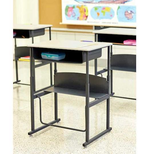 120 - AlphaBetter® Adjustable-Height Stand-Up Desk 28 W x 20 D