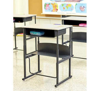 120 - AlphaBetter® Adjustable-Height Stand-Up Desk 36 W x 24 D