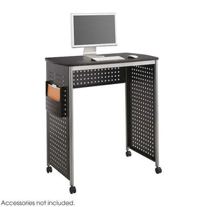 1908BL - Scoot™ Stand-up Desk, Black 38W x 23D
