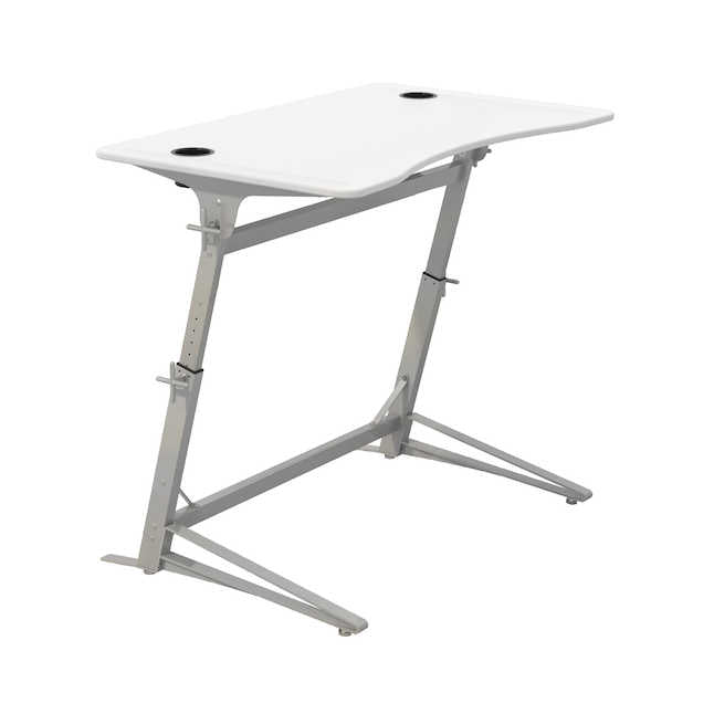 1959WH - Verve™ Standing-Height Desk, White 47W x 31D