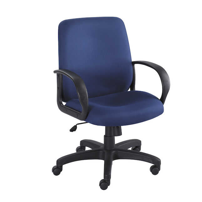 6301BL-Poise® Executive Mid Back Seating-Black