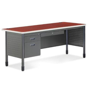 66366  MESA Desk with Available Right or Left Return 67W x 30D (Return adds 42 x 24)