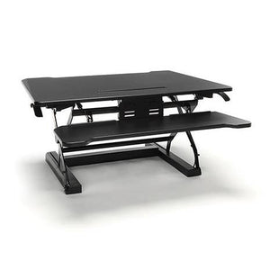 ESS-5136 Essentials Collection Adjustable Desktop Riser with Keyboard Tray