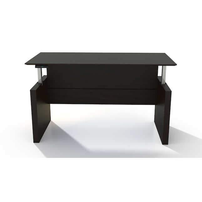 MNDSHA-Medina™ Height-Adjustable Straight Front Desk 63W or 72W x 36D
