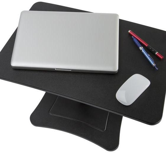 DC230B - High Rise Height Adjustable Laptop Stand, Black