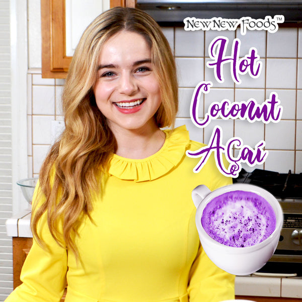 Hot Coconut Açaí Recipe