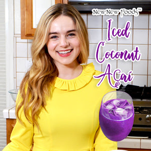 Iced Coconut Açaí Recipe
